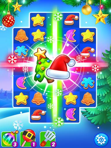 Christmas Cookie - Santa Claus's Match 3 Adventure 3.3.5 screenshots 7