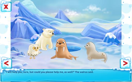 Polar Bear Cub - Fairy Tale with Games Free  screenshots 22