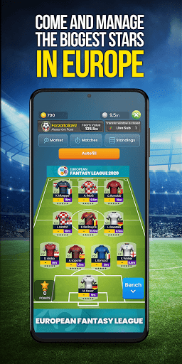 Real Manager Fantasy Soccer at another level  screenshots 1