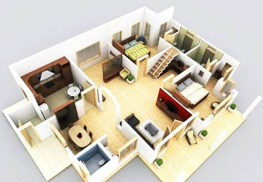 3D Home Plan Design For PC Windows (7, 8, 10, 10X) & Mac Computer Image Number- 13