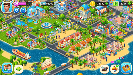 Farm City : Farming & City Building apkpoly screenshots 14