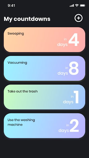 Day Count - countdown app & birthday reminder 1.6.0 screenshots 6