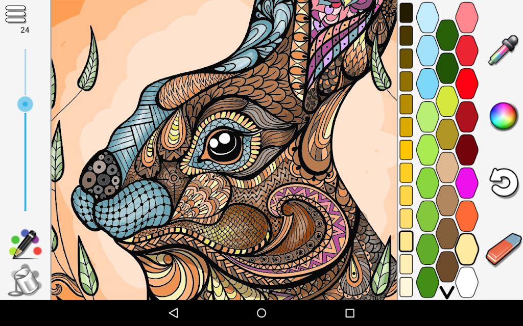 Coloring  poster 11