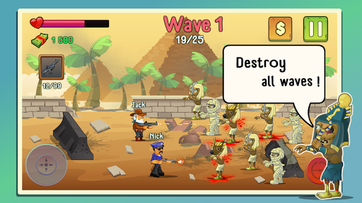 Two guys & Zombies (bluetooth game)  screenshots 2