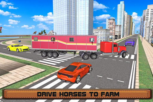 Horse Stunts Transporter Truck  screenshots 10