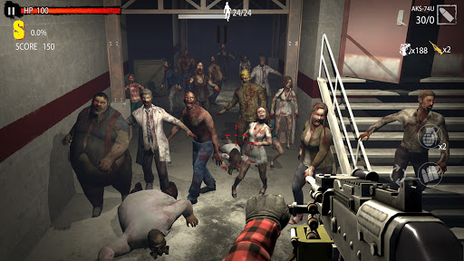 Zombie Hunter D-Day  screenshots 9