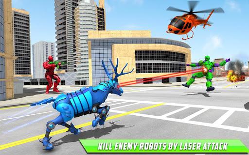 Deer Robot Car Game u2013 Robot Transforming Games 1.0.7 screenshots 12