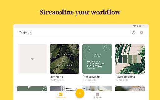 Over: Graphic Design, Photo Editor & Logo Maker  Screenshots 10