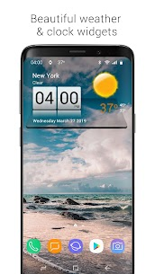 3D Sense Clock & Weather Mod Apk (Premium Activated) 1