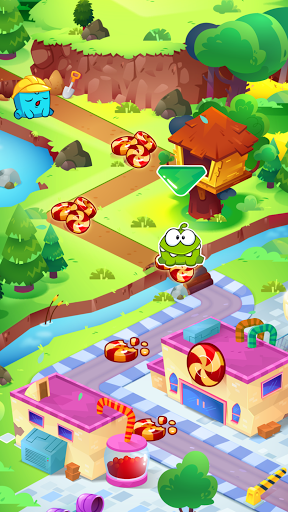 Om Nom Idle Candy Factory modavailable screenshots 3