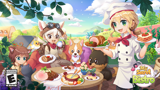 My Secret Bistro - Play cooking game with friends  screenshots 1