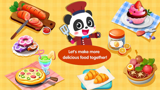 Little Panda's Food Cooking  screenshots 17