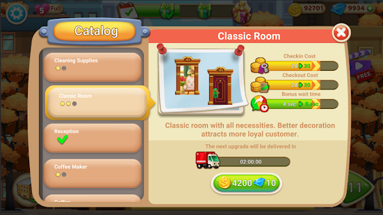 Hotel Tycoon 1.0 APK + Mod (Unlimited money) para Android