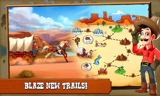 Westbound: Cowboys Peligro ¡Rancho! Screenshot