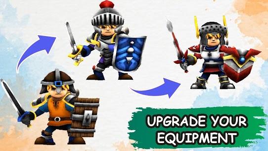 Idle Warrior Tales MOD APK (Unlimited Money/Premium) 2