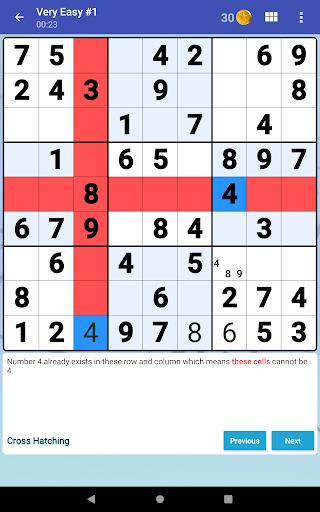 Sudoku Free - Classic Brain Puzzle Game  screenshots 18