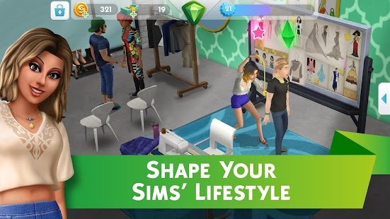 The Sims™ Mobile Screenshot