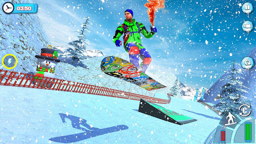 Snowboard Downhill Ski: Skater Boy 3D screenshots 1