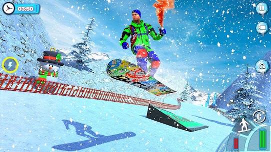 Snowboard Downhill Ski: Skater Boy 3D 1