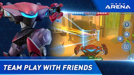 Mech Arena: Robot Showdown APK MOD (Dinero Ilimitado) 3
