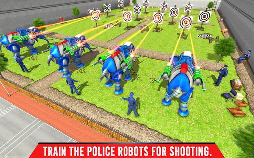 Police Elephant Robot Game: Police Transport Games 1.0.9 Screenshots 11