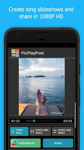 PicPlayPost Collage Maker, Slideshow, Video Editor 3.81.0_g_g Screenshots 4