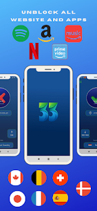 33 VPN Proxy For Android APK (PAID) Download Latest 5