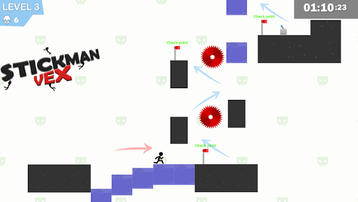 Stickman Impaled:Stick Parkour Platformer  screenshots 2
