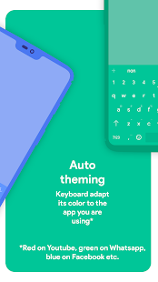 Chrooma Keyboard - RGB & Emoji Keyboard Themes Screenshot
