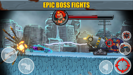 Max Fury - Road Warrior: Car Smasher screenshots 13