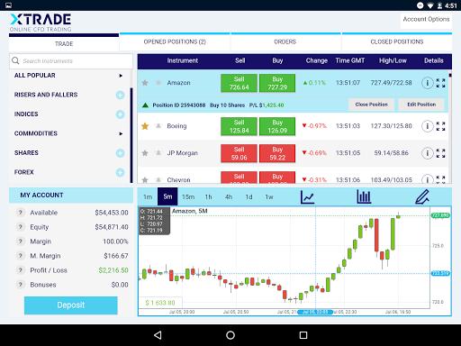 Xtrade - Online Trading modavailable screenshots 6