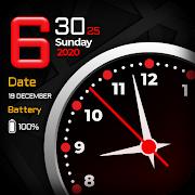 Smart Clock Face - Nightwatch, Clock Wallpapers HD