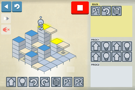 Descargar Lightbot : Programming Puzzles para PC ✔️ (Windows 10/8/7 o Mac) 5