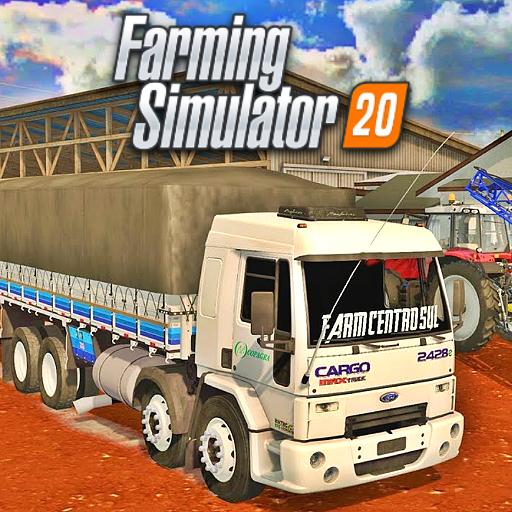 Baixar Jogo de Fazenda Farming Simulator 2020 Android para Android