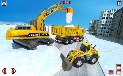 Grand Snow Excavator Simulator: Road Construction 4