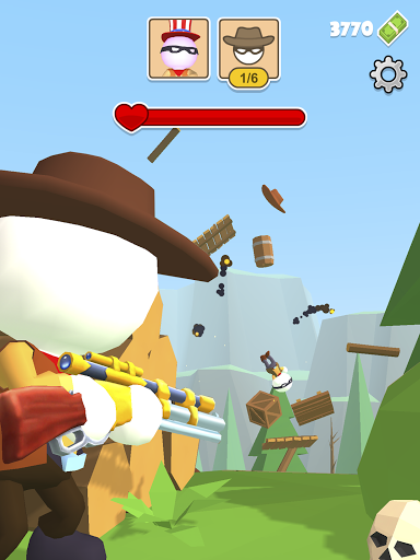 Western Sniper - Wild West FPS Shooter apktram screenshots 7