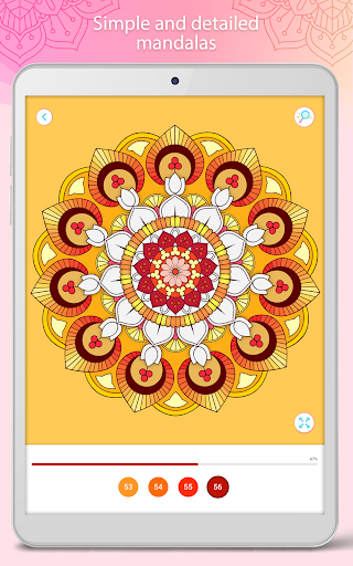 Color by Number u2013 Mandala Book modavailable screenshots 16