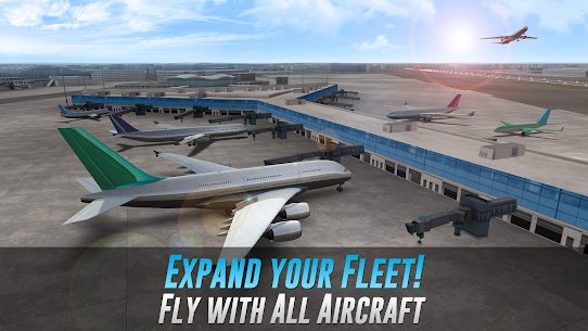 Airline Commander (MOD, Unlimited AC Credits) for Android 2