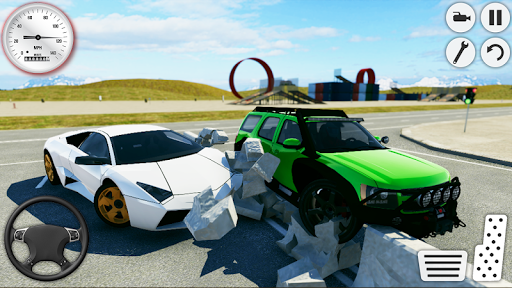 Ultimate City Car Crash 2019: Driving Simulator  screenshots 2