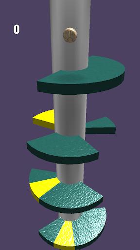 Endless Ball Fall - jump in the helix 3.9 screenshots 6