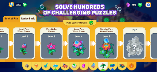 Sea Merge! Fish Games in Aquarium & Ocean Puzzle  screenshots 5