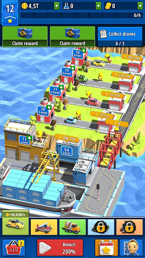 Idle Inventor - Factory Tycoon screenshots 1