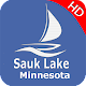 Sauk Lake - Minnesota Offline GPS Chart para PC Windows