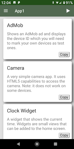 App Builder  screenshots 2
