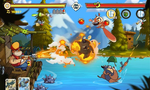 Swamp Attack 2 Mod Apk (Unlimited Money) 1