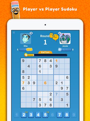 Sudoku Scramble - Head to Head Puzzle Game apkpoly screenshots 11