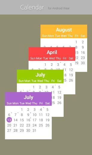 Calendar for Wear OS  screenshots 4