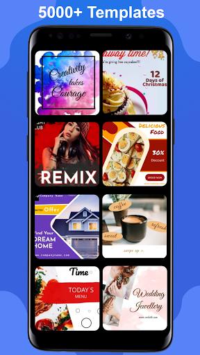 Download APK: Poster Maker Flyer Maker 2021 free graphic Design v5.1 [Premium]