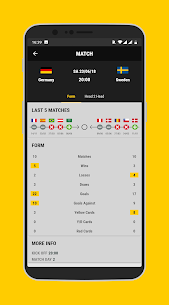 bwin Score Live Football Results 1.0.1 Mod + Data Download 3