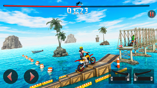 Racing Moto Bike Stunt Impossible Track Game apklade screenshots 1